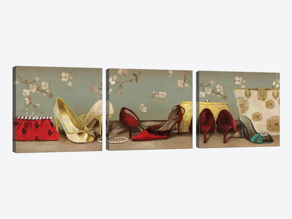 Shoe Lineup by PI Studio 3-piece Canvas Art
