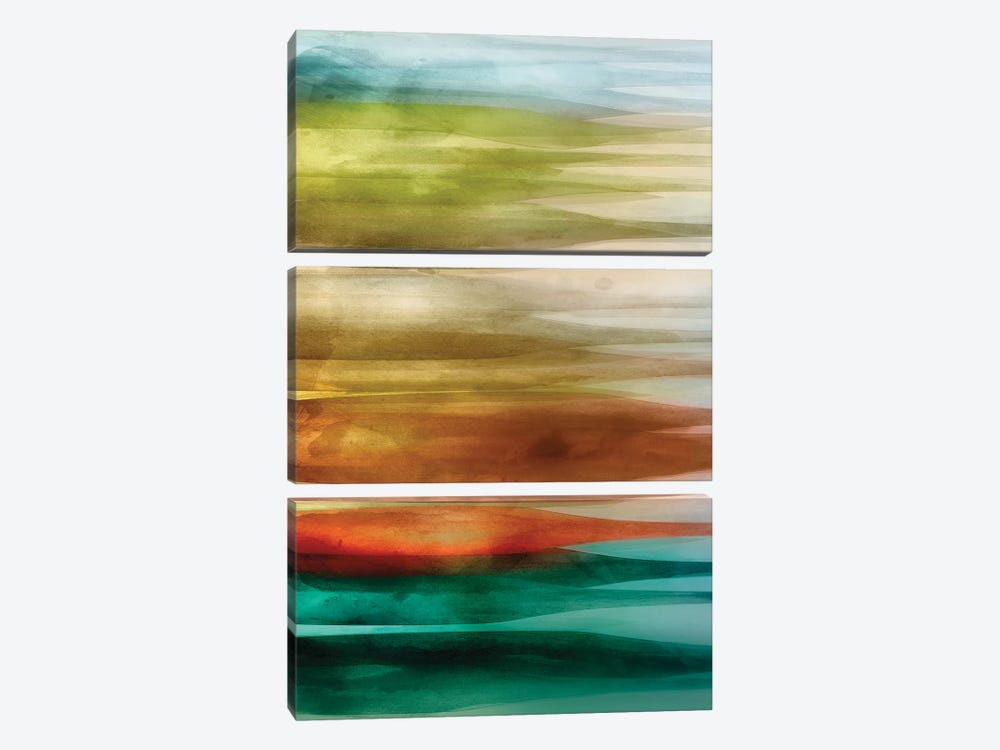 Sideways by PI Studio 3-piece Canvas Wall Art