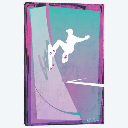 Skate Canvas Print #PST678} by PI Studio Canvas Art Print