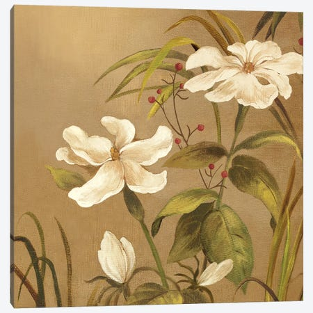 Bamboo Beauty II Canvas Print #PST67} by PI Studio Canvas Art Print