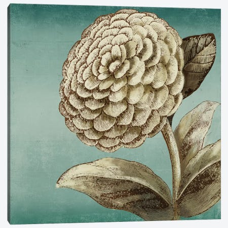 Slowdance Woodblock II Canvas Print #PST682} by PI Studio Canvas Art