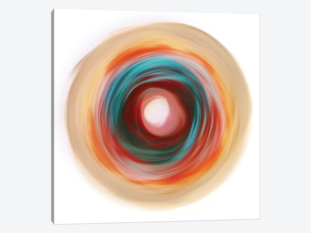 Soft Circle by PI Studio 1-piece Canvas Wall Art