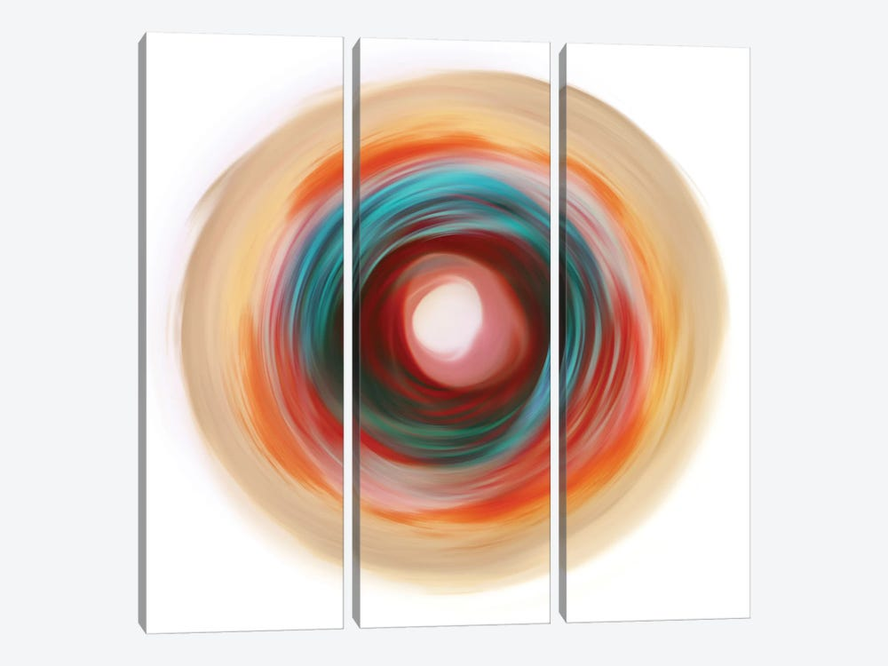 Soft Circle by PI Studio 3-piece Canvas Wall Art