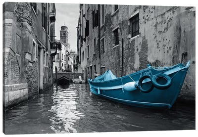 Barca Blue Canvas Art Print