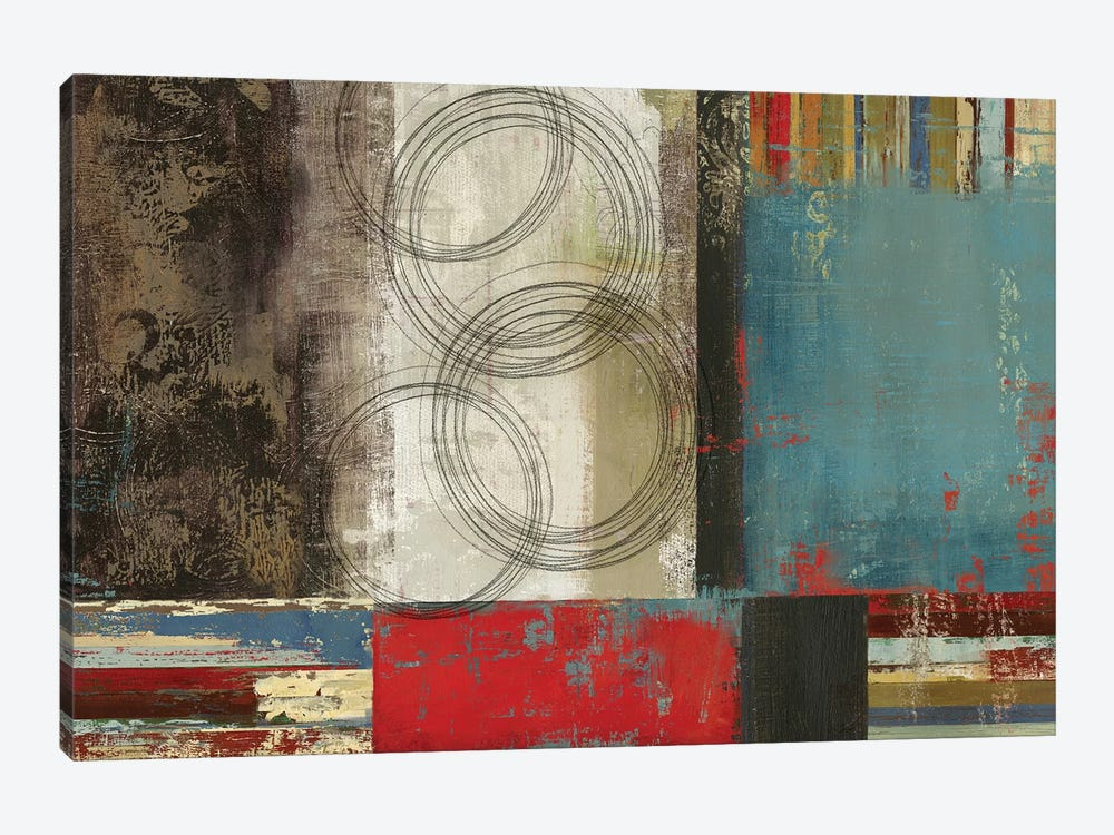 Spheres And Stripes by PI Studio 1-piece Art Print