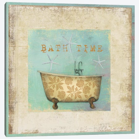 Bath Time Canvas Print #PST71} by PI Studio Art Print