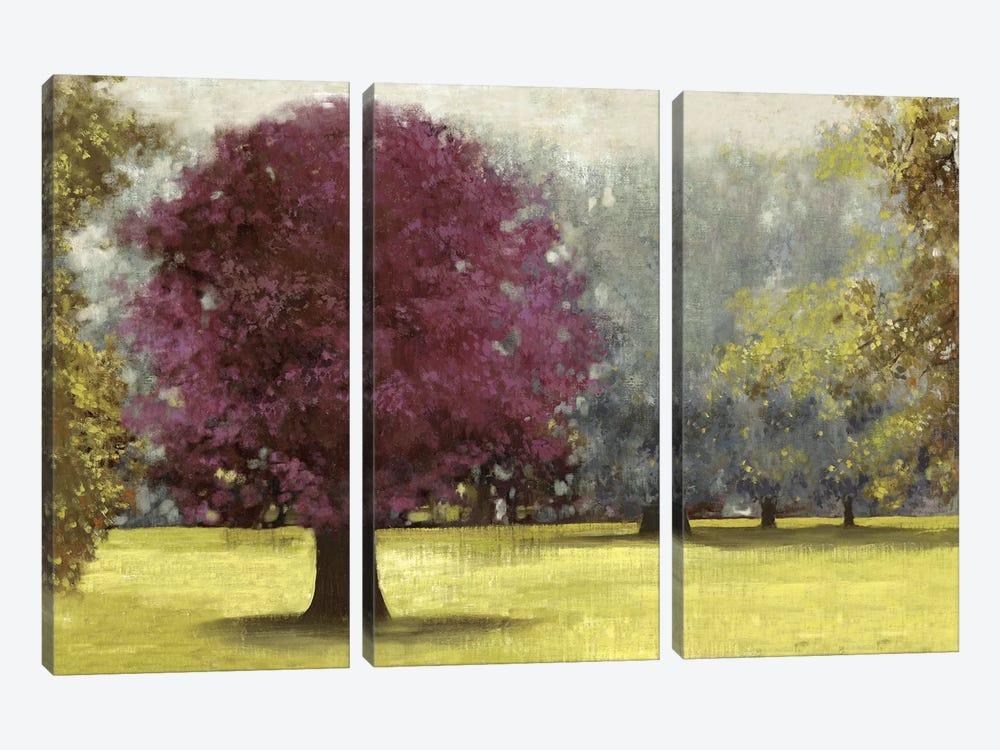 Summer Days, Plum by PI Studio 3-piece Canvas Print