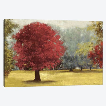 Summer Days, Red Canvas Print #PST721} by PI Studio Art Print