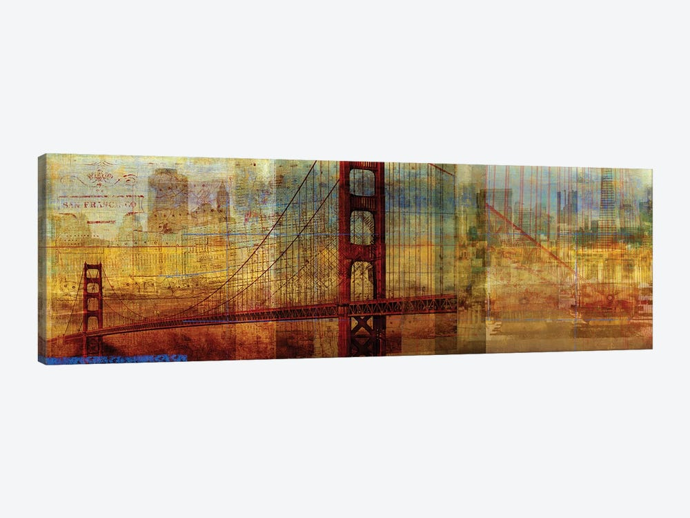 Sunset Bridge by PI Studio 1-piece Canvas Artwork