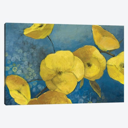 Sunshine Flowers Canvas Print #PST729} by PI Studio Canvas Art Print