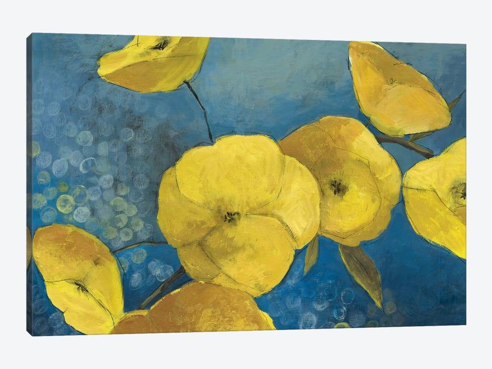 Sunshine Flowers by PI Studio 1-piece Canvas Wall Art