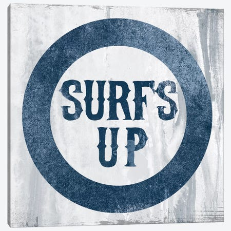 Surf's Up Canvas Print #PST733} by PI Studio Canvas Art