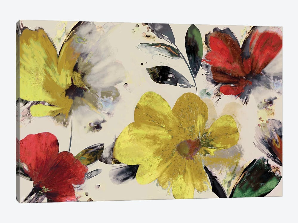 Sweet Blooms by PI Studio 1-piece Canvas Artwork