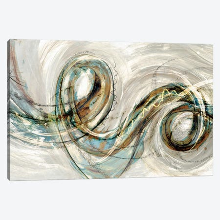 Swirly Whirly II Canvas Print #PST737} by PI Studio Canvas Print