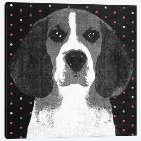 Beagle Canvas Print #PST73} by PI Studio Art Print