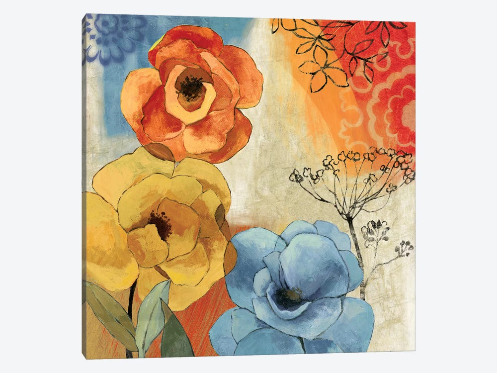 Tangerine Dreams I by PI Studio 1-piece Canvas Art