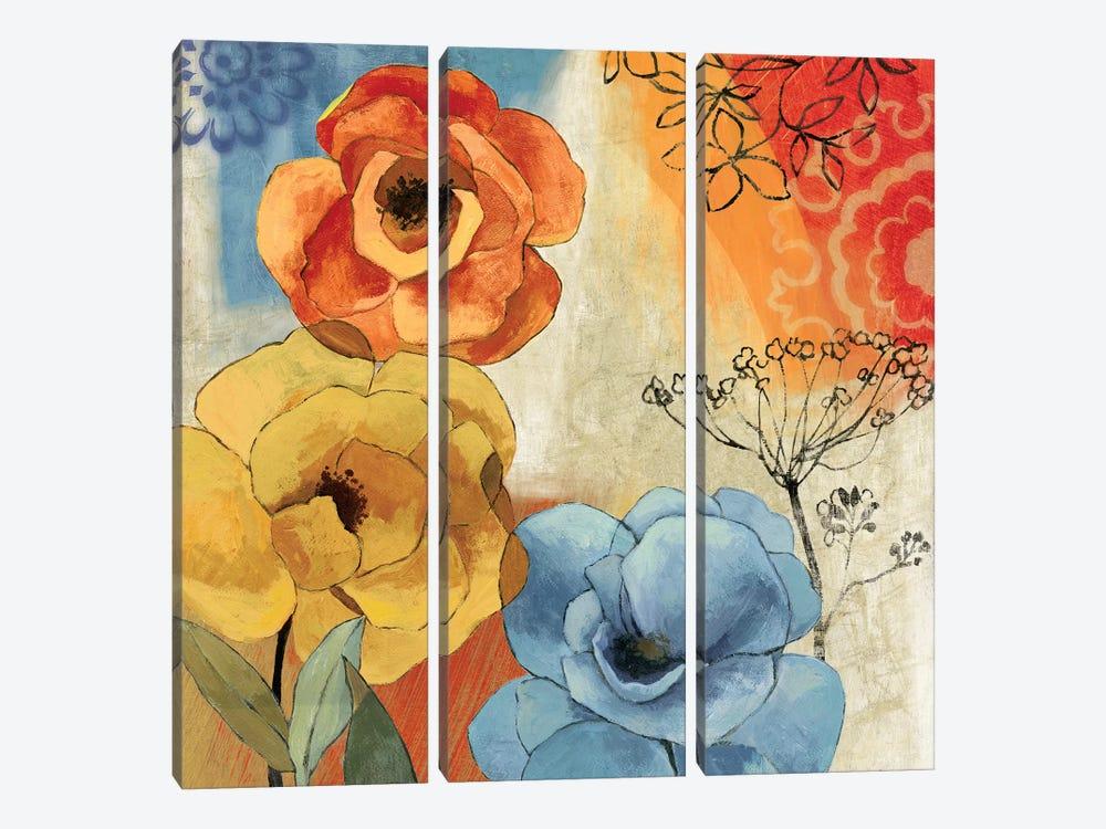 Tangerine Dreams I by PI Studio 3-piece Canvas Art