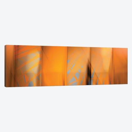 Tangerine On Grey Canvas Print #PST743} by PI Studio Canvas Art Print