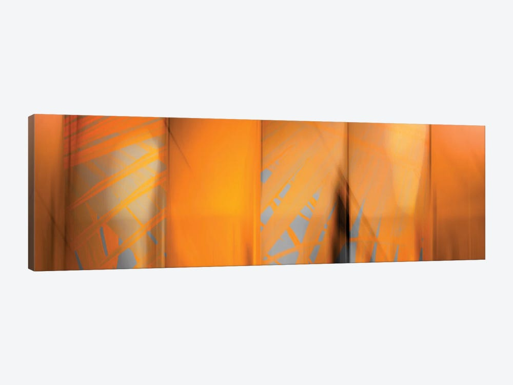 Tangerine On Grey by PI Studio 1-piece Canvas Wall Art