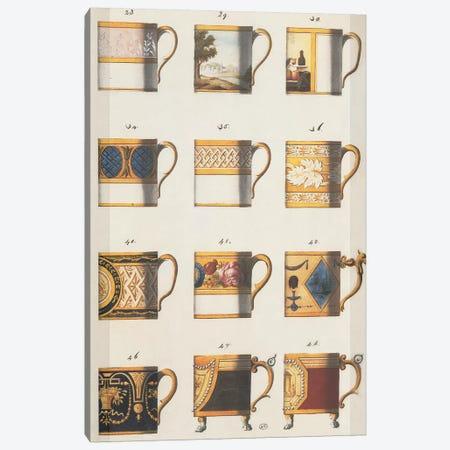 Teacups II Canvas Print #PST748} by PI Studio Art Print