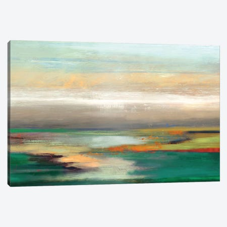 Teal Askew Canvas Print #PST749} by PI Studio Canvas Art Print