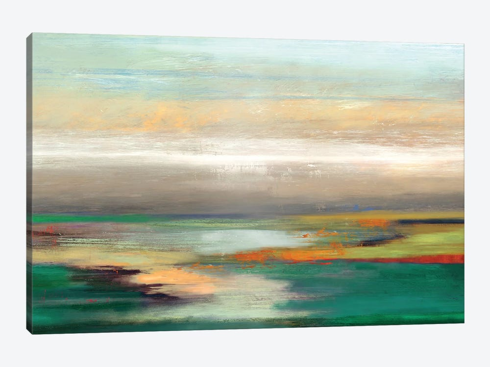 Teal Askew by PI Studio 1-piece Canvas Artwork