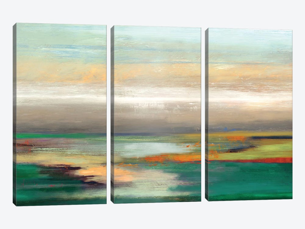 Teal Askew by PI Studio 3-piece Canvas Wall Art