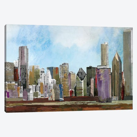 The City Canvas Print #PST764} by PI Studio Canvas Artwork
