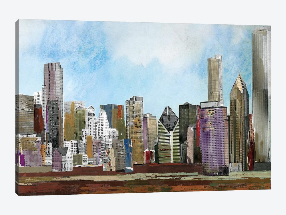 The City by PI Studio 1-piece Canvas Print