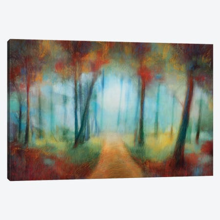 Through The Trees Canvas Print #PST766} by PI Studio Canvas Art