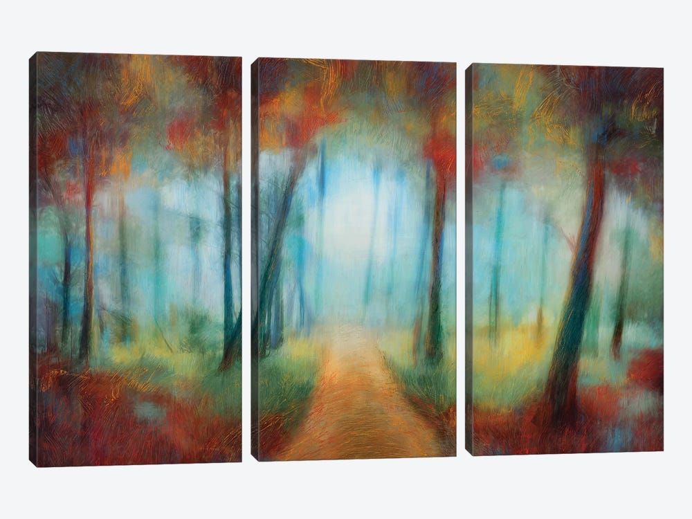 Through The Trees 3-piece Art Print