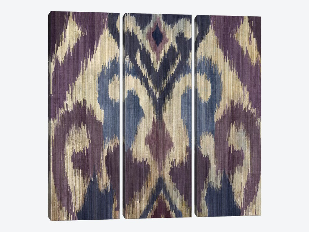 Traveller Ikat by PI Studio 3-piece Canvas Art Print