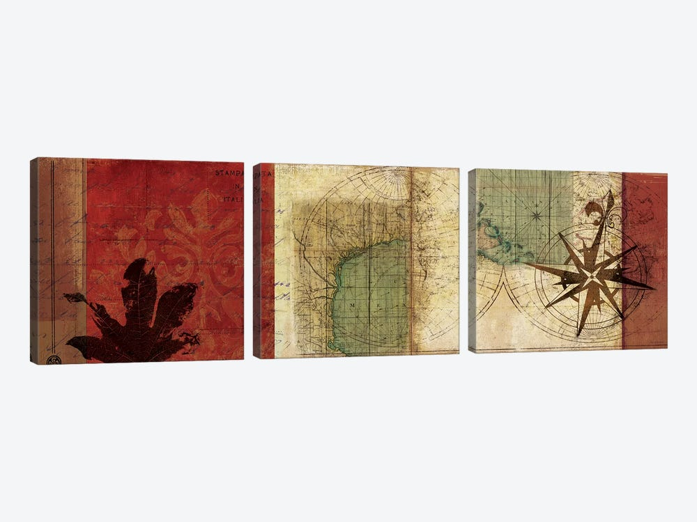 Travels I by PI Studio 3-piece Art Print