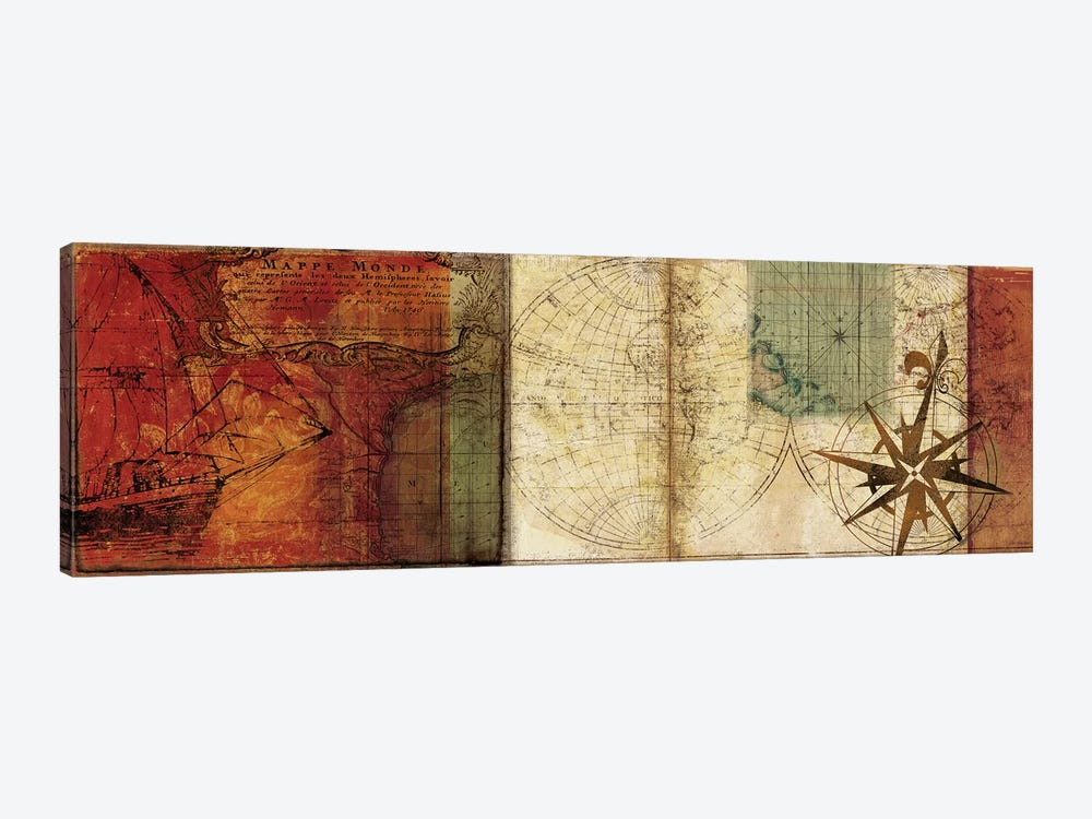 Travels II 1-piece Canvas Artwork