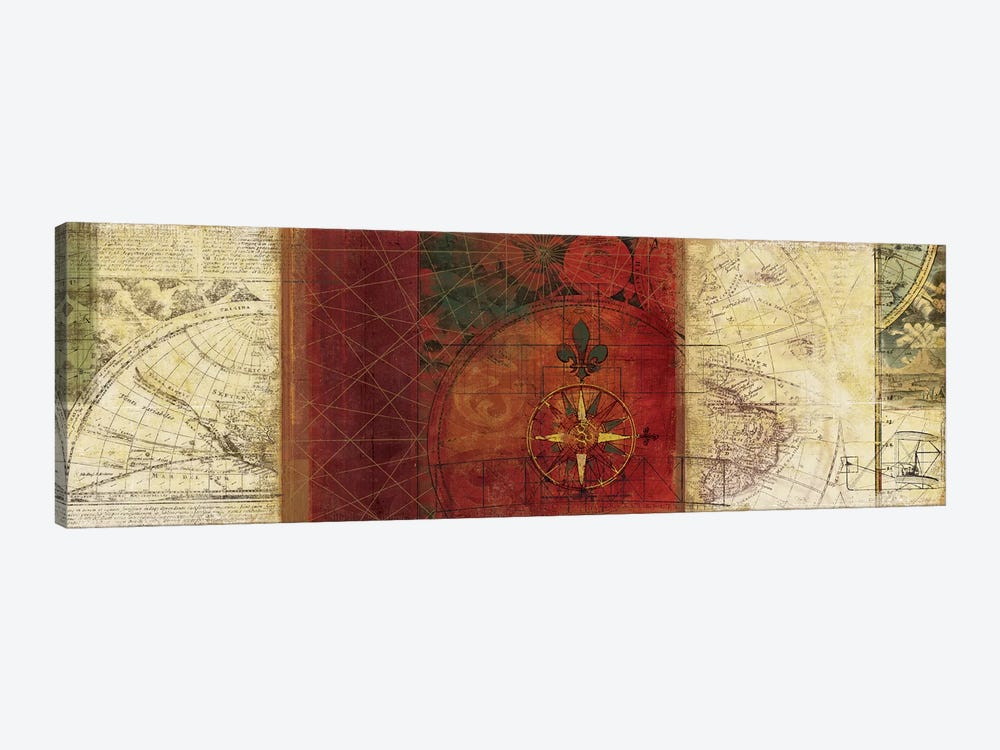 Travels III by PI Studio 1-piece Canvas Art Print