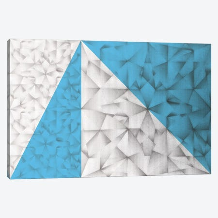 Triangles Squared Canvas Print #PST785} by PI Studio Canvas Wall Art