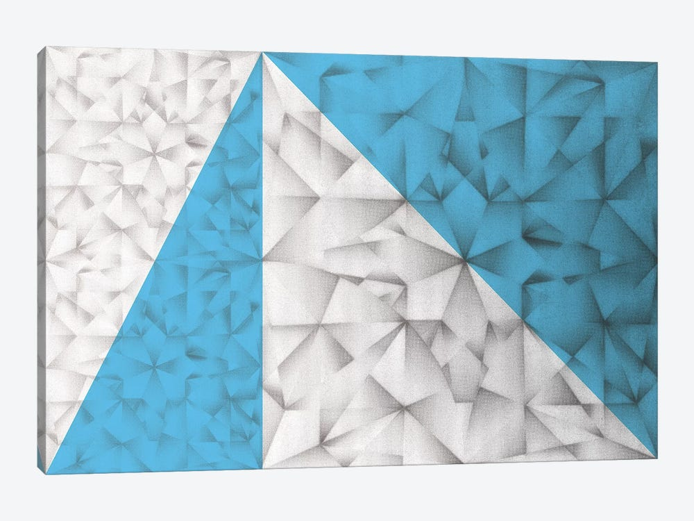 Triangles Squared by PI Studio 1-piece Canvas Wall Art