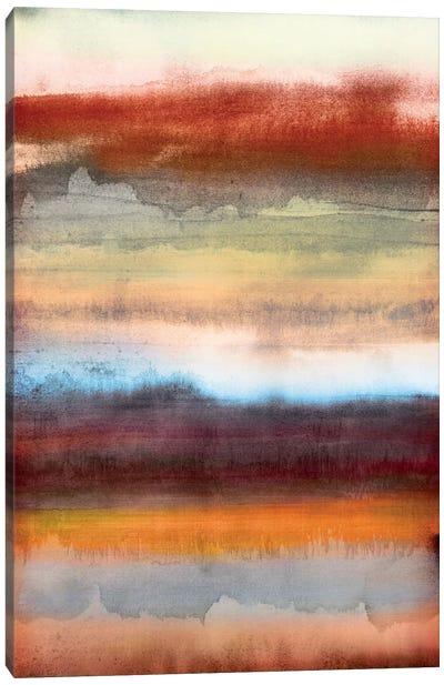 Tribal Colour Wash II Canvas Art Print