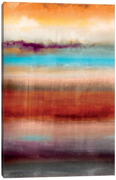 Tribal Colour Wash III Canvas Art Print