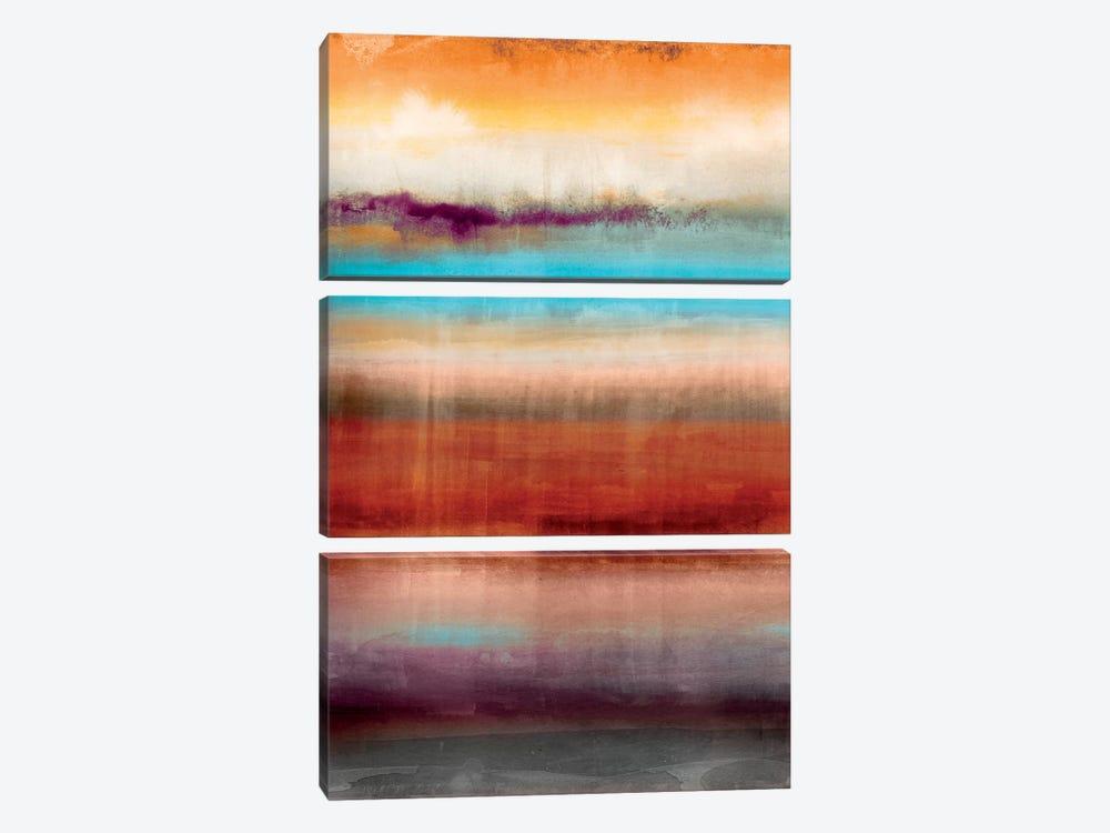 Tribal Colour Wash III by PI Studio 3-piece Canvas Print