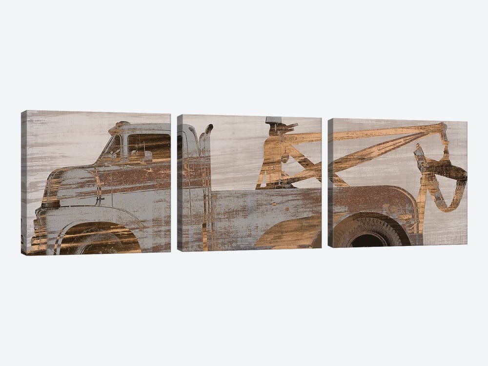 Trucks Curve by PI Studio 3-piece Canvas Art