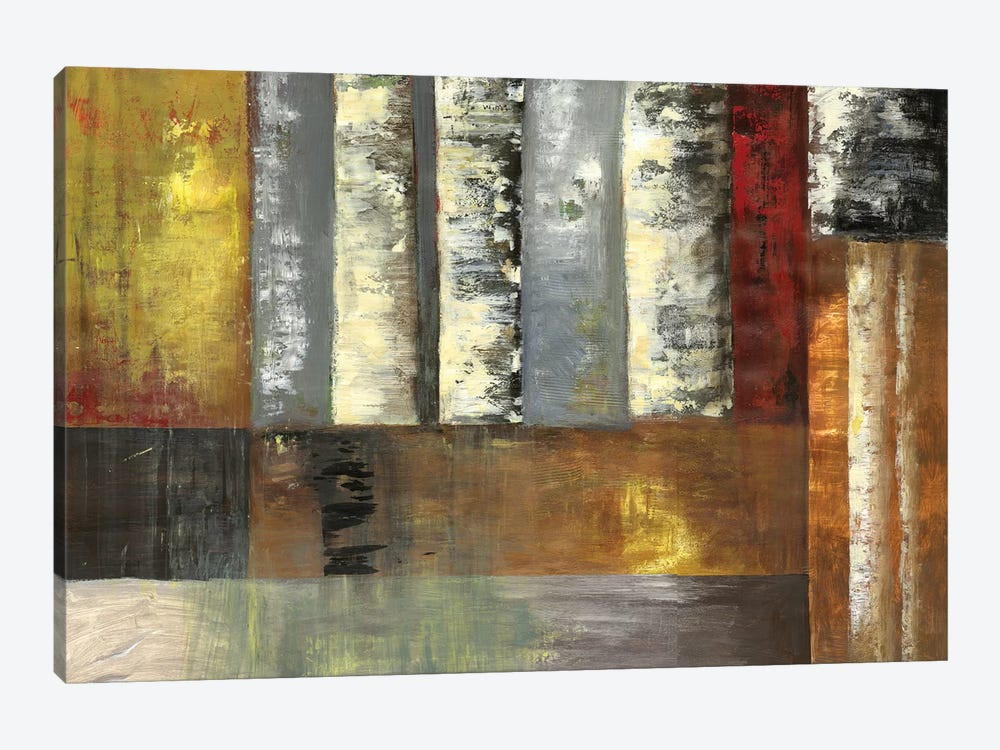 Abstracted Birches by PI Studio 1-piece Art Print