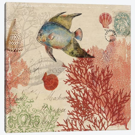 Under The Sea I Canvas Print #PST802} by PI Studio Canvas Art