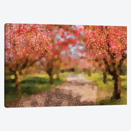 Undeterred Spring Canvas Print #PST804} by PI Studio Art Print