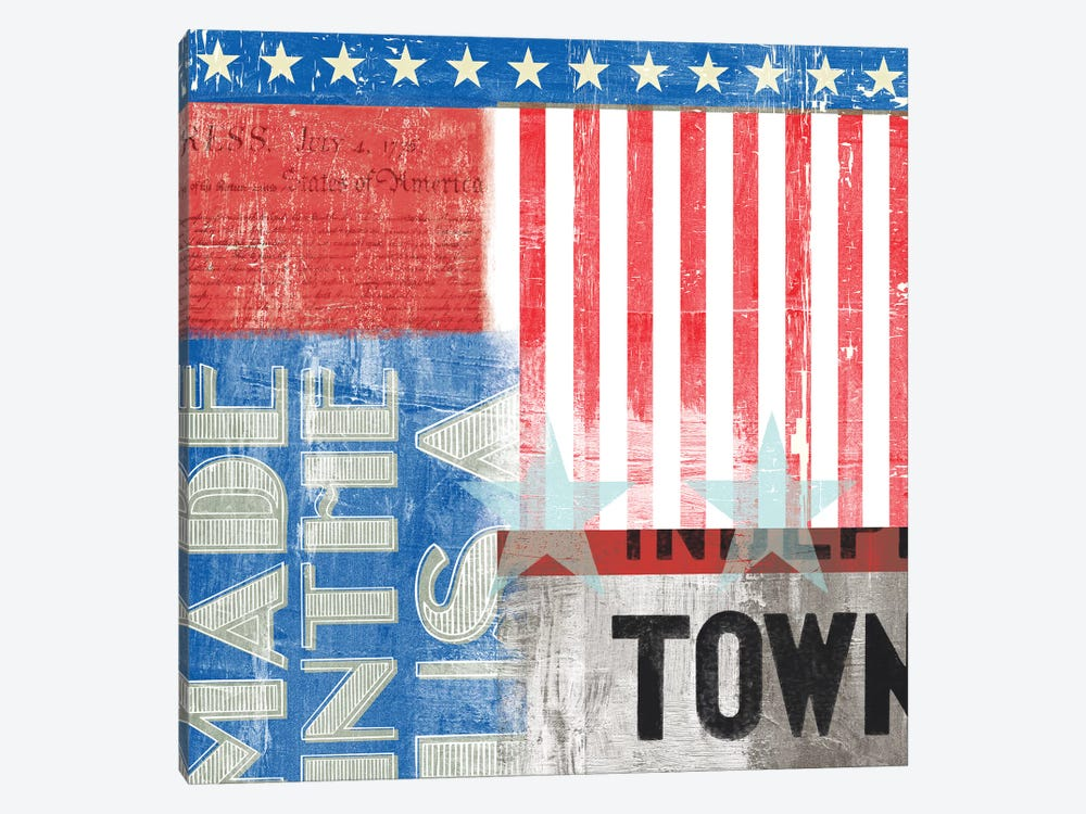 USA 1-piece Canvas Wall Art