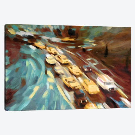 Velvet Highway Canvas Print #PST811} by PI Studio Art Print