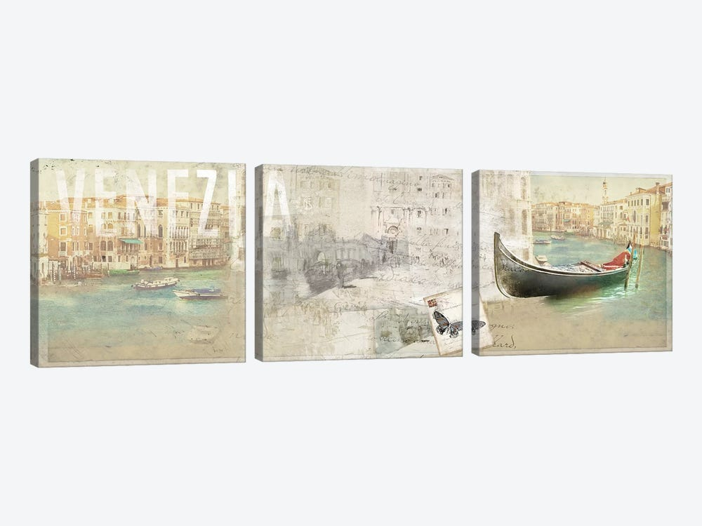 Venezia by PI Studio 3-piece Canvas Art Print