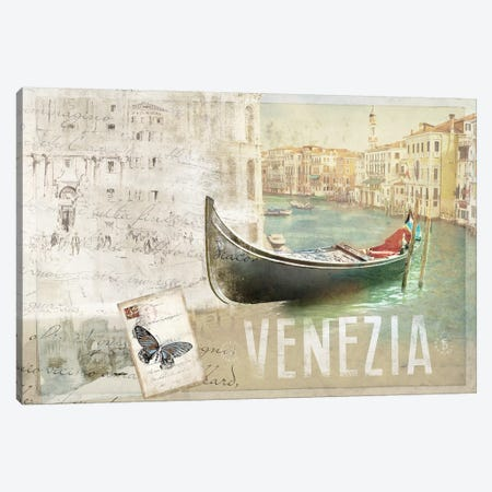 Venezia Butterfly Canvas Print #PST816} by PI Studio Canvas Art