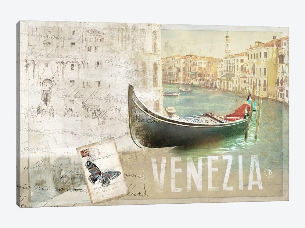 Venezia Butterfly by PI Studio 1-piece Canvas Artwork