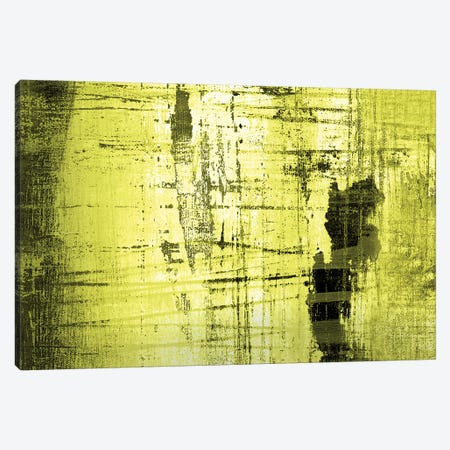 Vert Lime Canvas Print #PST817} by PI Studio Canvas Wall Art